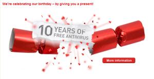 Free-AV 10 years
